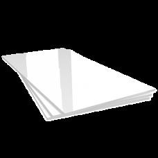 Stampa plexiglass bianco